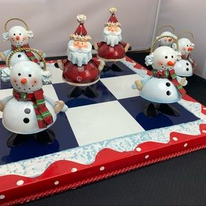 Homco Home Interiors TIC TAC TOE Christmas Game
